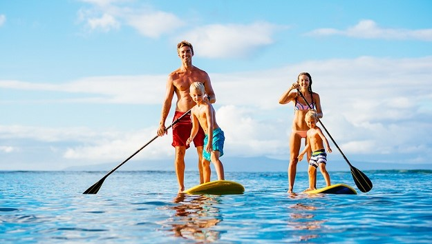 Make Stand Up Paddling a Family Affair